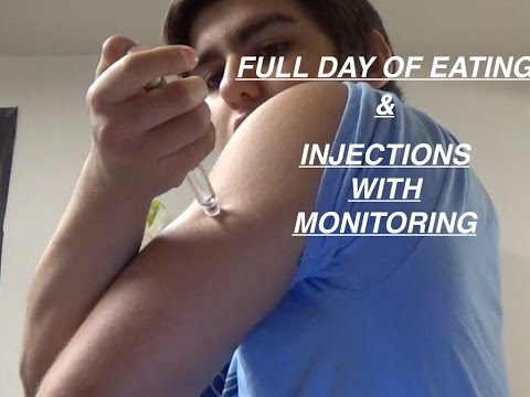 Full Day of Eating With Injections and Measurements Ep. 09