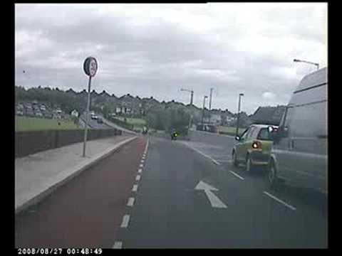 Taxi Near Crash