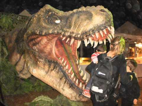 Excursion al museo de dinosaurios de Barcelona