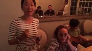 Ăn nhậu tại nhà Kỳ Duyên | Thanh Hà hát Never fall in love siêu hay