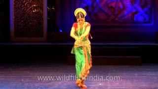 Anandini Dasi performing Moksha