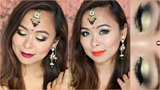 Diwali Makeup | Gold Eyes Festive Glam with Aishwarya Kaushal