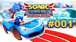 SONIC u0026 ALL-STAR RACING TRANSFORMED #001 GLN ★ Let's Play Sonic u0026 All-Stars Racing [Deutsch]