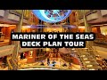 Mariner of the seas DECK PLAN TOUR
