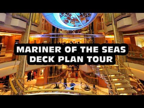 Mariner of the seas DECK PLAN TOUR