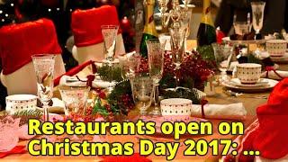 Eat dinner on christmas ...