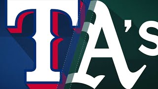 Manaea leads A's past the Rangers: 4/4/18