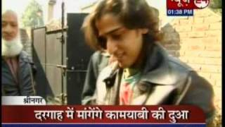 qazi touqeer in kashmir giving interview to news 24 luv hm he s so hot