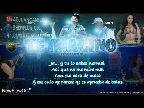 Te Imagino con letra Alberto Stylee Ft. J Alvarez & Lui-G '21 Plus (Official Remix)
