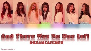 Dreamcatcher (드림캐쳐) -the end of nightmare [and there was no one left (그리고 아무도 없었다)] all rights reserved happyface entertainment lyrics/작사: ollounder, leez co...