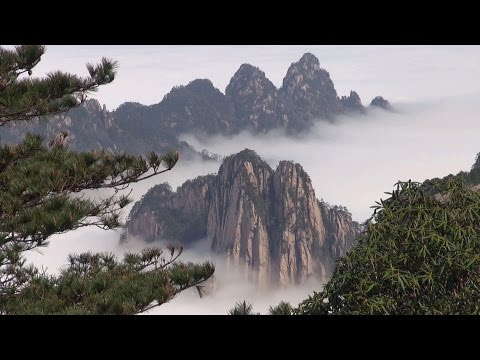 Mont Huangshan Chine ( The Yellow Mountain)