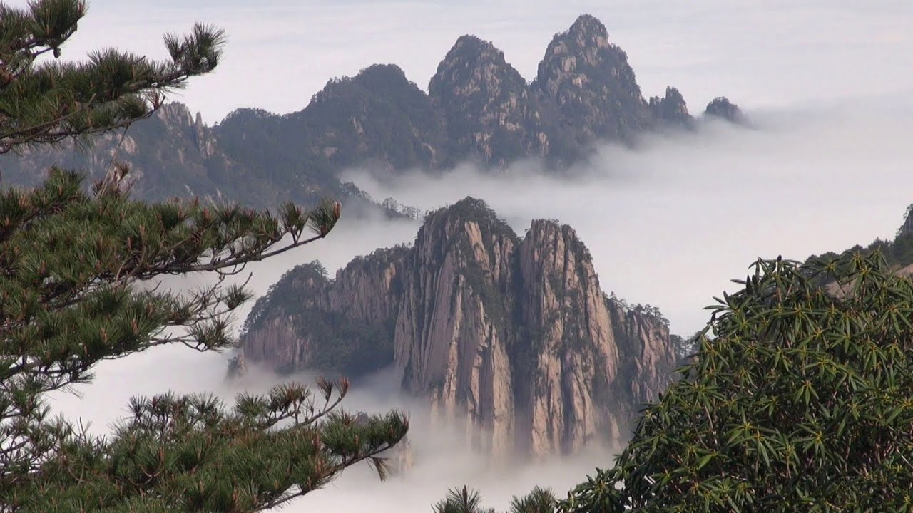 Mont Huangshan Chine ( The Yellow Mountain) - YouTube