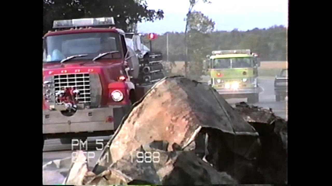 Ridge View Fire Aftermath # two  9-13-88
