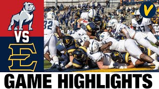 Samford vs East Tennessee Highlights | 2021 Spring FCS College Football Highlights