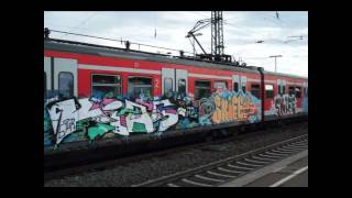 Stuttgart Graffiti Train #1
