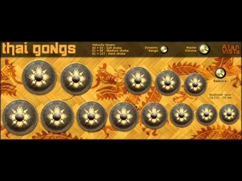 Thai Gongs VST by Alan ViSTa