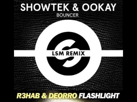 Showtek & Ookay VS R3hab & Deorro - Flashlight Bouncer (LSM Remix)
