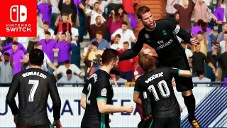 FIFA 18 Switch Gameplay - IS IT GOOD?? FULL GAME FIFA 18 Nintendo Switch
