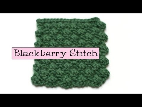 Knitting Blackberry Stitch In The Round : How To Knit The Fancy Openwork Stitch From Youtube - Youtube Mp3 Mp4 Download...