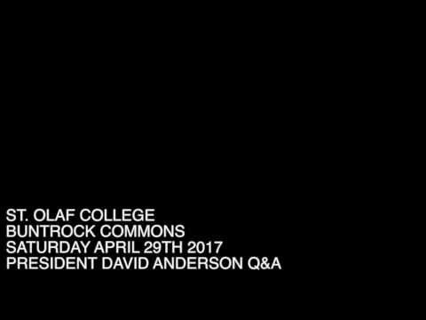 DAVID ANDERSON Q&A 429