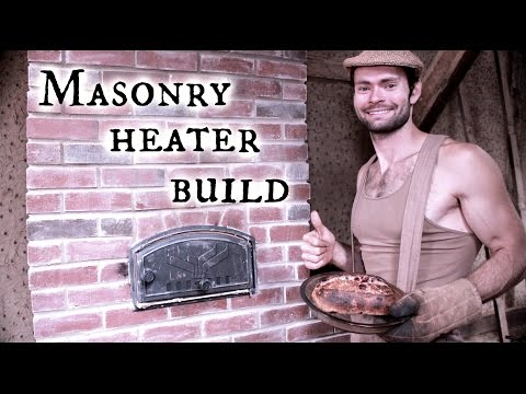 Thumbnail: Our Timber frame workshop: Masonry Heater