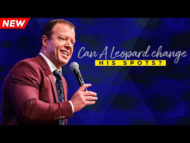Can A Leopard Change His Spots? | Pastor At Boshoff | 18 August 2019 AM