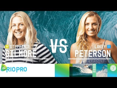 Stephanie Gilmore vs. Lakey Peterson - FINAL - Oi Rio Women's Pro 2018