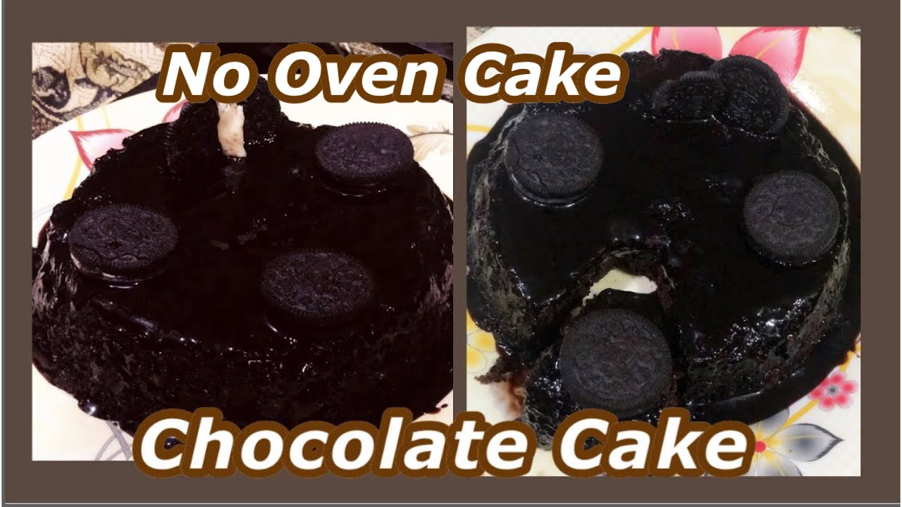 Chocolate Cake without Oven easy Recipe | How to make easy ...