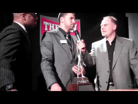 Northern Illinois Quarterback Chandler Harnish at the Columbus Touchdown Club