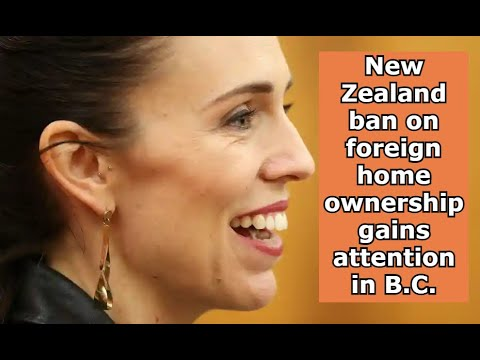 New Zealand ban on foreign home ownership!!!!