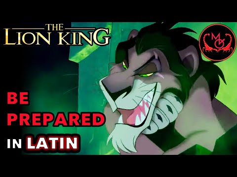 """Be Prepared"" In Latin! Lion King ""Duce Mē"""