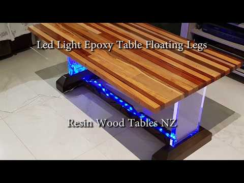 Making an Epoxy Resin LED Strip Table