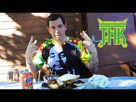 JAMAICAN JERK CHICKEN #Traphousekitchen S04E03   Money Boy