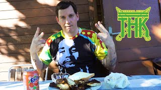 JAMAICAN JERK CHICKEN #Traphousekitchen S04E03 | Money Boy