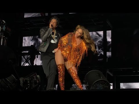 Beyoncé and Jay-Z Baby Boy/ Mi Gente/ Mine/ Black Effect/ Countdown On The Run 2 Vancouver 10/2/2018
