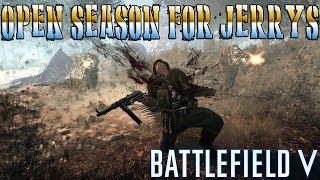 OPEN SEASON FOR JERRYS | Battlefield V PC Live Stream (1080p 60fps)