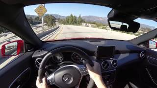 2014 Mercedes-Benz CLA45 AMG - WR TV POV City Drive