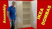 Ikea Dombås Wardrobe White Assembly How To Youtube