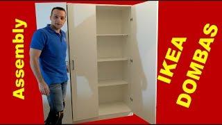 IKEA DOMBAS wardrobe assembly