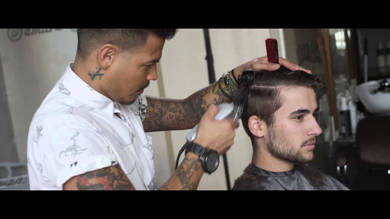 New Men's Hair Product - Hanz de Fuko Claymation - Haircut & Style