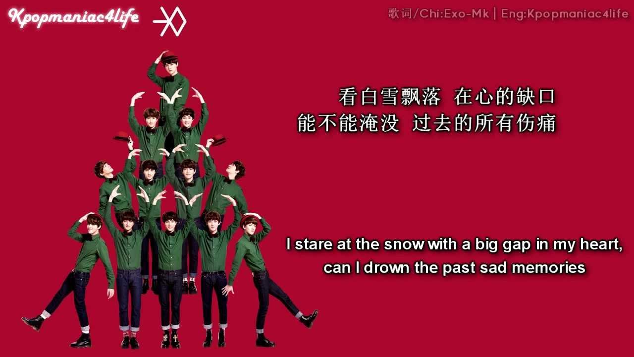 [中字]EXO - 初雪(First Snow) [中字/Chinese+英文翻譯/English] HD - YouTube