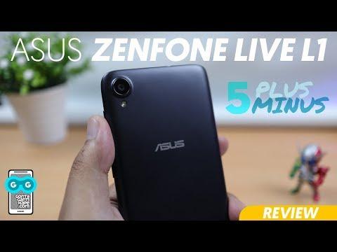 Review ASUS Zenfone Live L1 - Terbaik Di Sekolahnya? :D (dengan 5 Plus Dan 5 Minus)