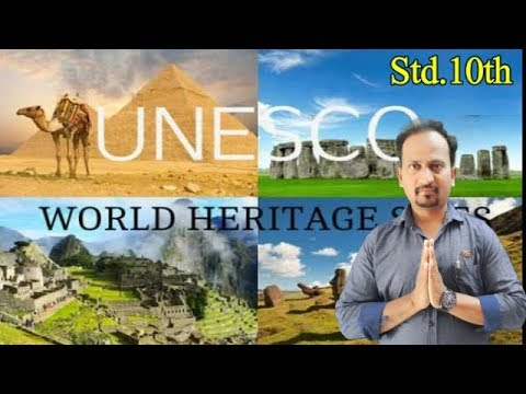 #EnglishForLearners : English Workshop : World Heritage[UNESCO official site ]Std.10th NEW SYLLABUS