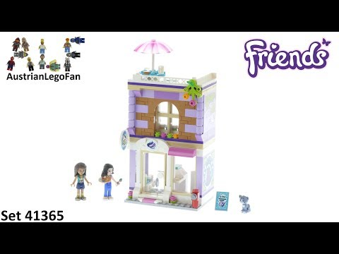 Lego Friends 41365 Emma's Art Studio - Lego 41365 Speed Build