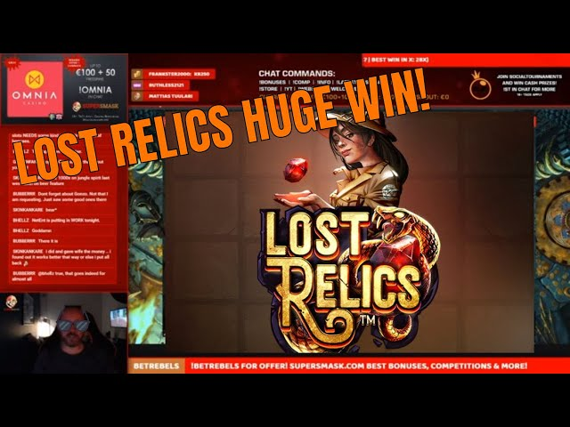Lost Relics goes CRAZY!! Loads of Wilds!