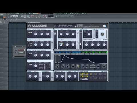 Deutsche FL Studio Tutorials | #07 Massive Future House Bass (Splitted)