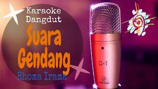 Karaoke dangdut Suara Gendang - Rhoma Irama feat Riza Umami