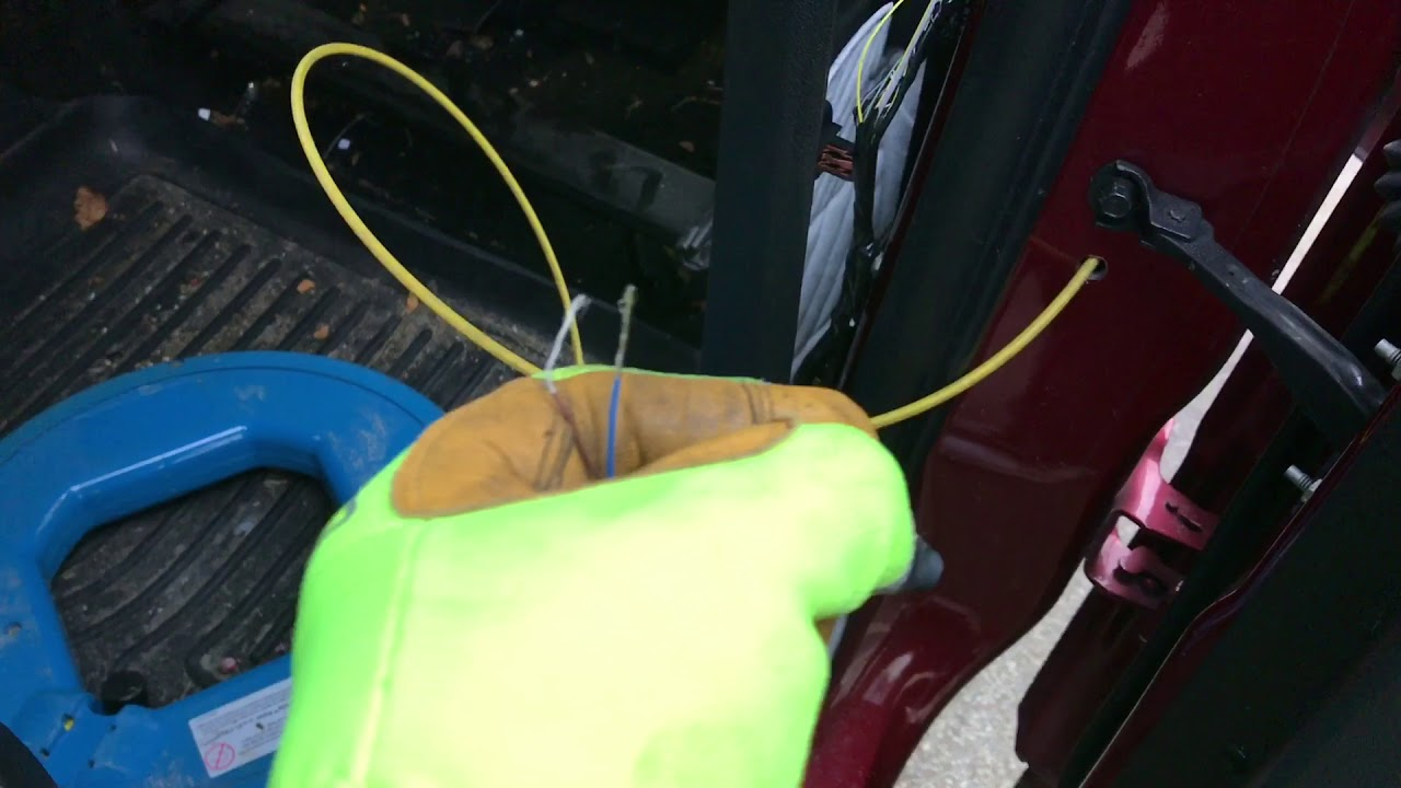 hight resolution of ford flex door ajar fix using a magnet switch 10 in parts with working interior door lights