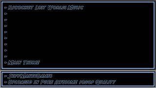 Ricochet Lost Worlds Music - Main Theme [1080p HD]