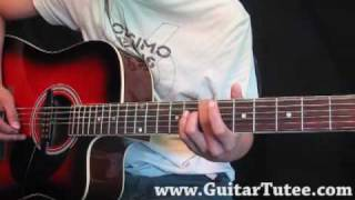 Boys Like Girls Feat. Taylor Swift -Two Is Better Than One, by www.GuitarTutee.com